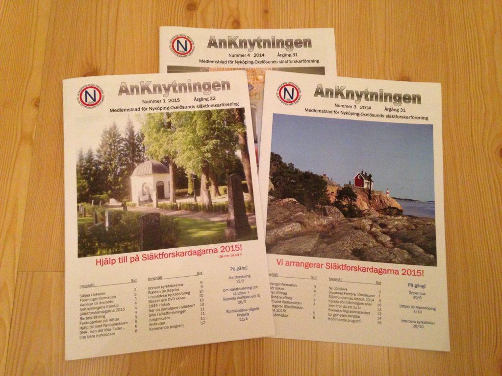 NOSFF:s medlemstidning AnKnytningen